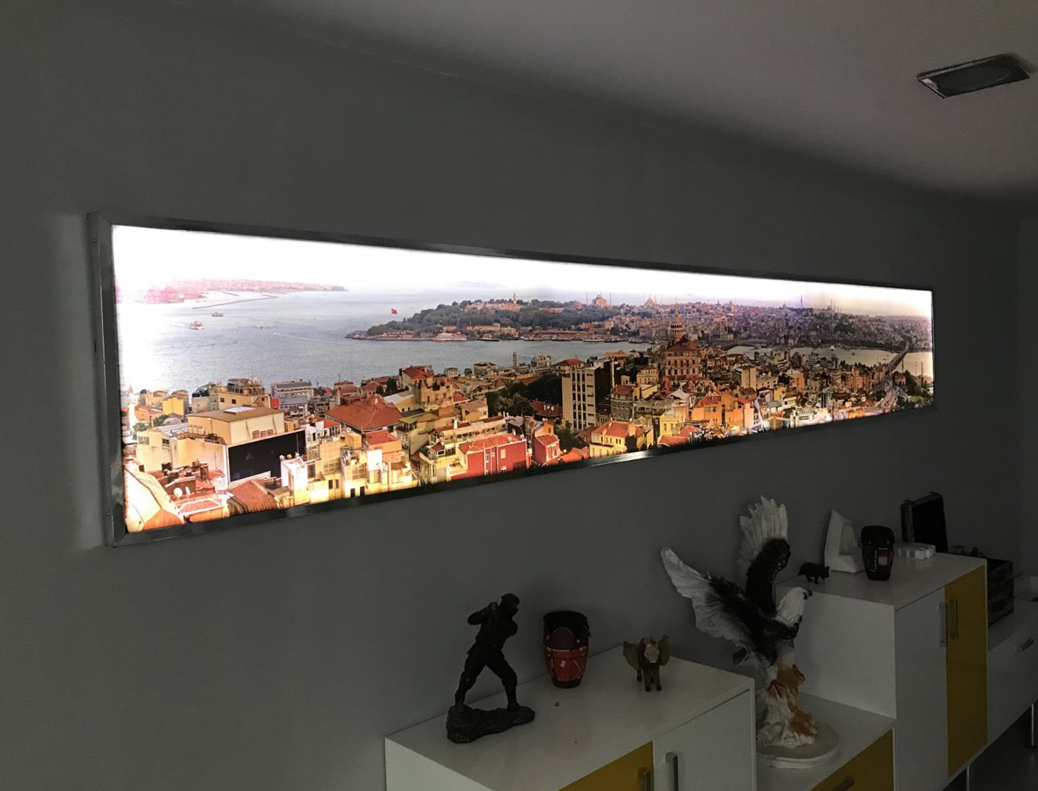 ışıklı light box